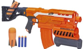 NERF N-STRIKE ELITE DEMOLISHER 2-IN-1 BLASTER REVIEW