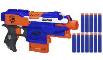 NERF N-STRIKE ELITE STRYFE BLASTER REVIEW