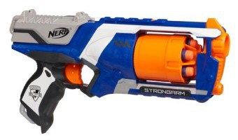 NERF N-STRIKE ELITE STRONGARM REVIEW