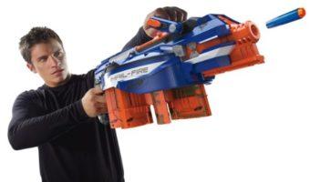 Nerf N-Strike Elite Hail-Fire Nerf-Gun Review